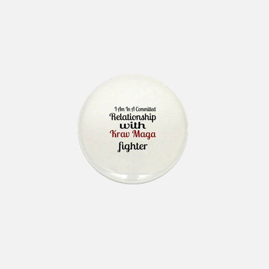 Relationship With Krav Maga Fighter Mini Button