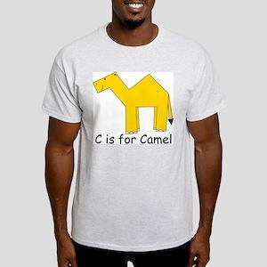 C is for Camel Light T-Shirt