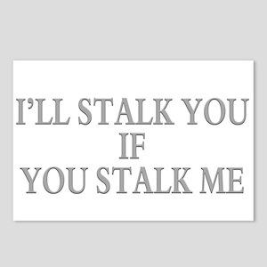 Stalking humor Postcards (Package of 8)