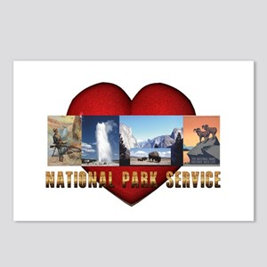 National Parks Love Postcards (Package of 8)