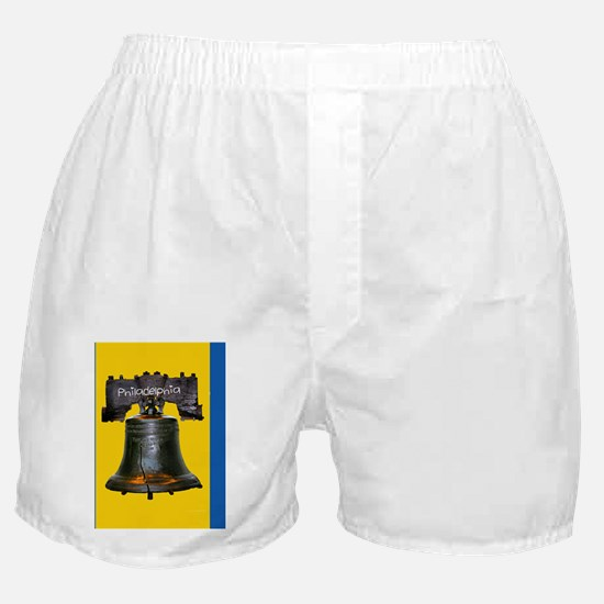 Philadephia_13x13_LibertyBell Boxer Shorts