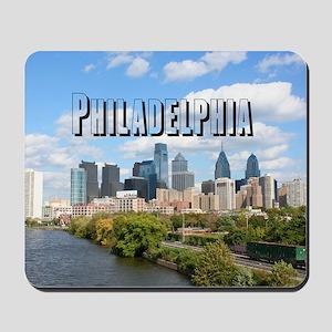 Philadephia_Rect_Skyline Mousepad