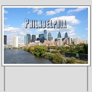 Philadephia_Rect_Skyline Yard Sign
