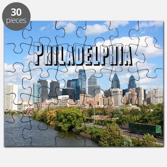 Philadephia_Rect_Skyline Puzzle
