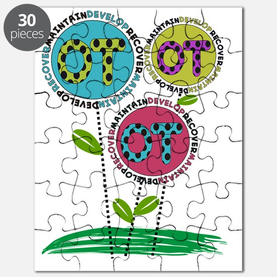 OT FLOWERS FINISHED 1 Puzzle