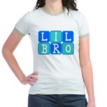 Lil Bro (Blue/Green) Jr. Ringer T-Shirt