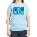 Lil Bro (Blue/Green) Women's Light T-Shirt