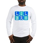 Lil Bro (Blue/Green) Long Sleeve T-Shirt