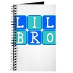 Lil Bro (Blue/Green) Journal