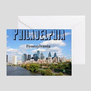 Philadelphia_10X8_puzzle_mousepad_Ph Greeting Card