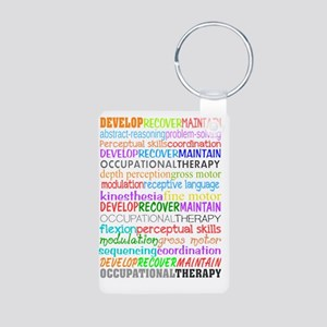 OT Descriptive terms Aluminum Photo Keychain