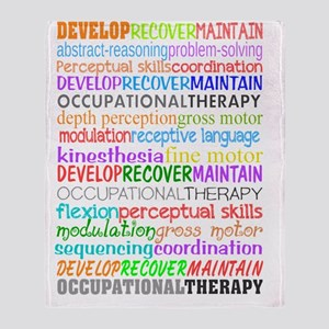 OT Descriptive terms Throw Blanket