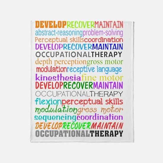OT Descriptive terms Throw Blanket