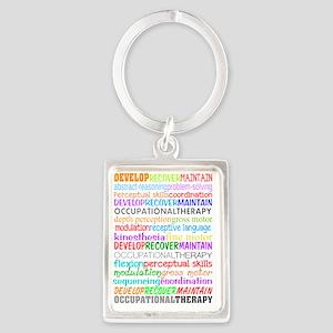 OT Descriptive terms Portrait Keychain