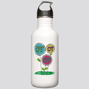 OT FLOWERS FINISHED 1 Stainless Water Bottle 1.0L