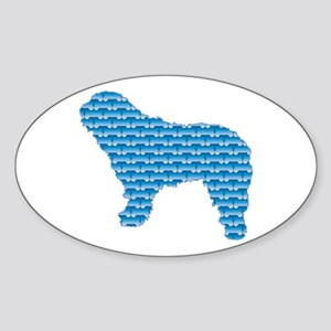 Bone SWD Oval Sticker