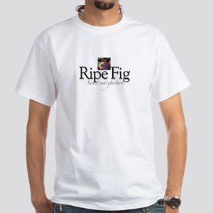 Ripe Fig White T-Shirt
