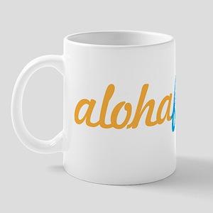 Aloha Friday Hawaii Fancy Design Mug