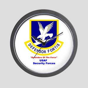 Security Forces Wall Clock