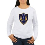 USS GLENARD P. LIPSCOM Women's Long Sleeve T-Shirt