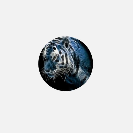 Night Tiger Mini Button