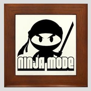 Ninja mode Framed Tile