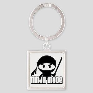 Ninja mode Square Keychain