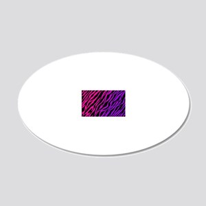 purplepinkzebra 20x12 Oval Wall Decal