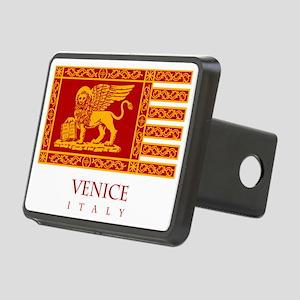 Venice Flag Rectangular Hitch Cover