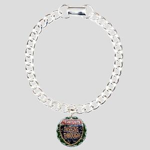 Fishtown - Passing Troug Charm Bracelet, One Charm