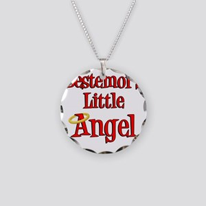 Bestemors Little Angel Necklace Circle Charm