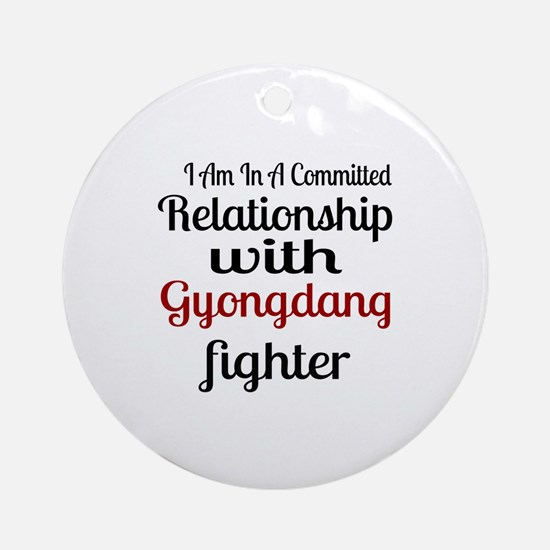 Relationship With Gyongdang Fighter Round Ornament