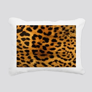 leopard Rectangular Canvas Pillow