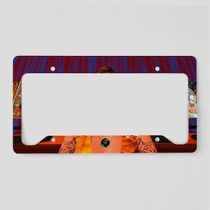 Om Mani Padme Hum License Plate Holder