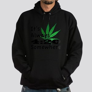 420 Hoodie (dark)