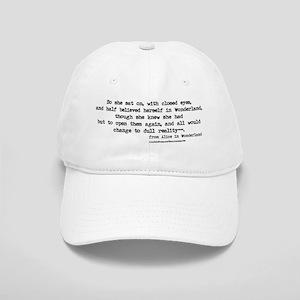 """""""Wonderland"""" Quote - Cap"""