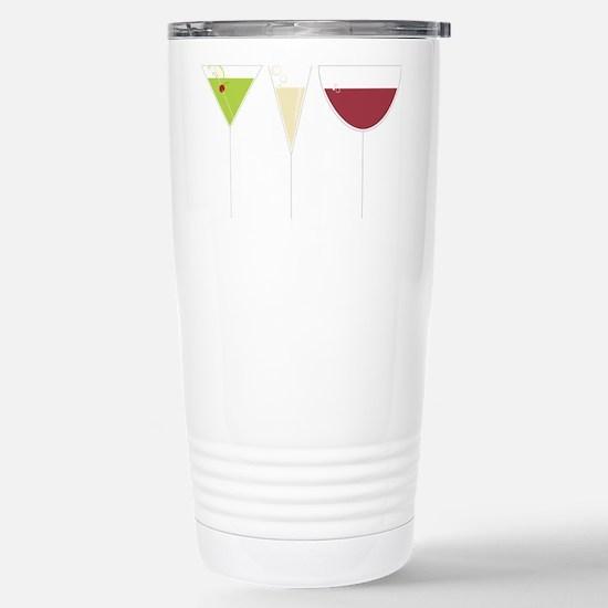 Drink Trio Stainless Steel Travel Mug