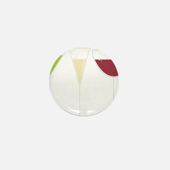 Drink Trio Mini Button