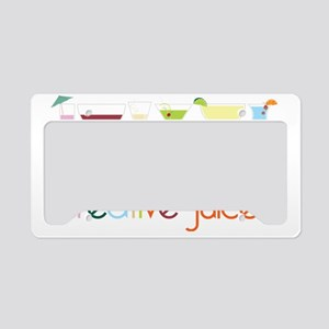 Creative Juices License Plate Holder
