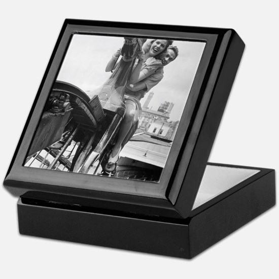 Coney Island Steeplechase Ride 182406 Keepsake Box