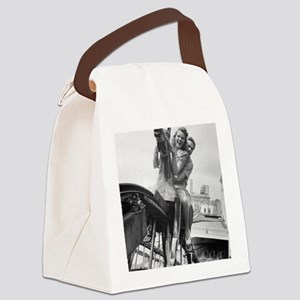 Coney Island Steeplechase Ride 18 Canvas Lunch Bag