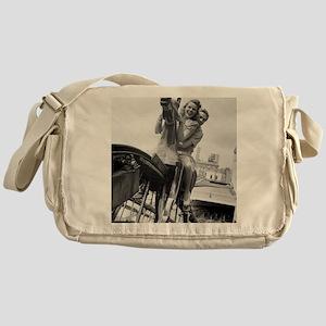 Coney Island Steeplechase Ride 18240 Messenger Bag