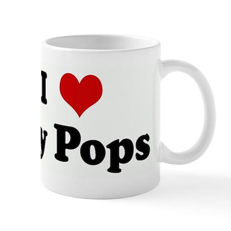 I Love my Pops Mugs