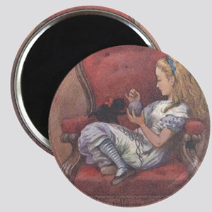 Alice in Chair Magnet