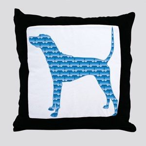 Bone Plott Throw Pillow