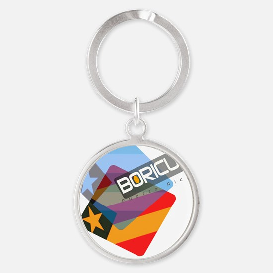 BoricuaWear Round Keychain