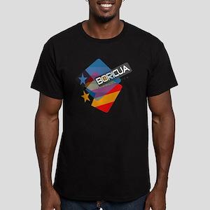BoricuaWear Men's Fitted T-Shirt (dark)