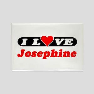 I Love Josephine Rectangle Magnet