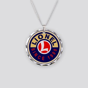 Lionel Necklace Circle Charm