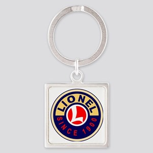 Lionel Square Keychain